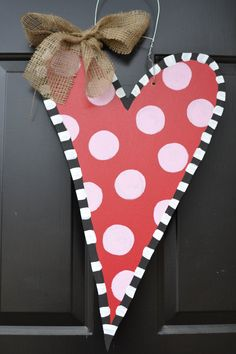 valentines day door hanger workshop